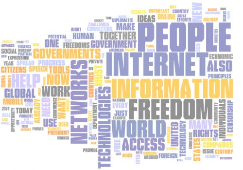 Internet Freedom Word Cloud
